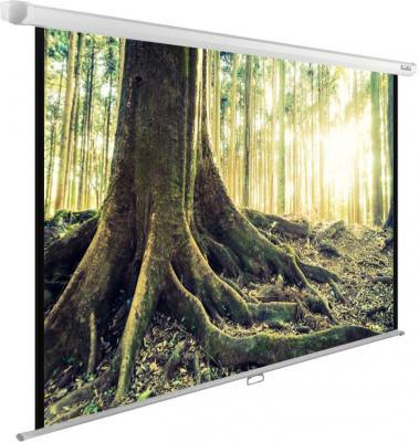 Картинка для Экран Cactus 220x220см WallExpert CS-PSWE-220x220-WT 1:1 настенно-потолочный рулонный