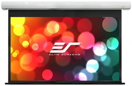Экран Elite Screens 115x203см Saker electric SK92XHW-E24 16:9 настенно-потолочный рулонный экран настенный elite screens 152x152см m85xws1 ручной mw белый