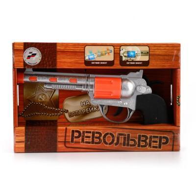 игрушечное оружие играем вместе револьвер играем вместе Револьвер Играем вместе РЕВОЛЬВЕР 8607A черный серебристый оранжевый B1503252-R