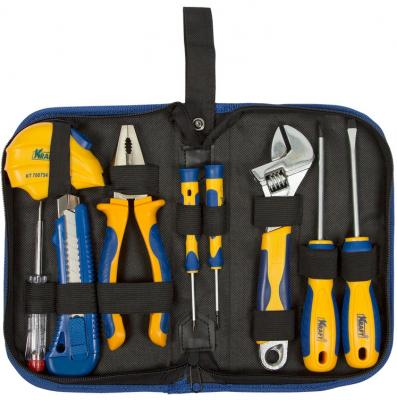 Набор инструмента KRAFT KT 703000 9 предметов в сумке цена 2017