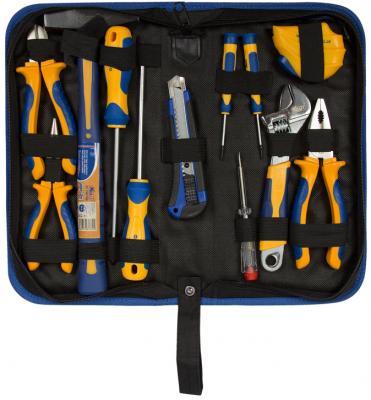все цены на Набор инструмента KRAFT KT 703001 12 предметов в сумке онлайн