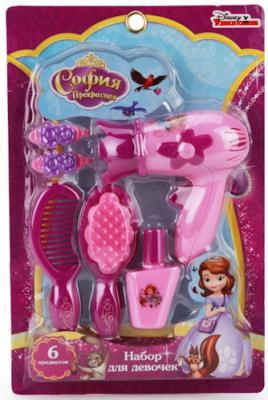Купить Набор аксессуаров ИГРАЕМ ВМЕСТЕ Принцесса София 6 предметов, для девочки, Игровые наборы Маленькая красавица