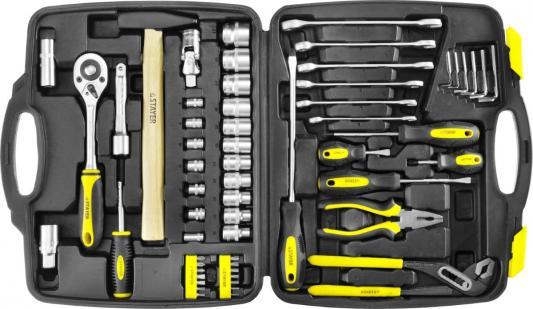 Набор слесарно-монтажного инструмента STAYER MASTER 27760-H59 58 предметов набор инструментов сибин 27765 h56 слесарно монтажного инструмента 56предметов