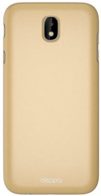 Чехол Deppa Чехол Air Case для Samsung Galaxy J7 (2017), золотой, Deppa deppa air case чехол для samsung galaxy s4 mini white
