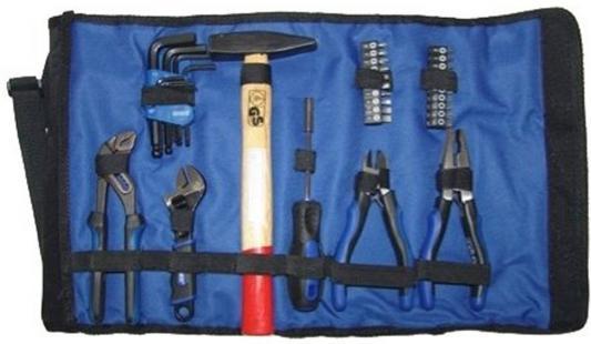 Набор инструмента UNIPRO U-770 для электрика 35 предм. в сумке-рукаве с ремнем unipro u 770