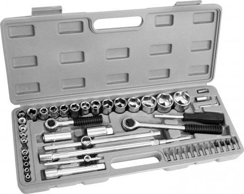 цена на Набор инструментов KROFT 203052 ремонтный 1/2 52предм.