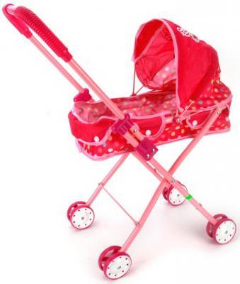 Коляска-люлька для кукол Карапуз Принцессы Диснея карапуз коляска для кукол карапуз с корзиной розовая