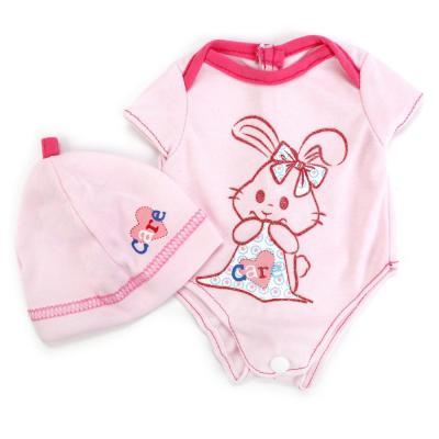 Одежда для кукол Карапуз Комплект одежды для кукол карапуз комплект одежды для куклы курточка и брючки цвет розовый