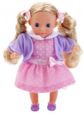 Кукла КАРАПУЗ Кукла 18 см поющая говорящая цена