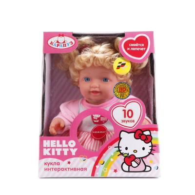 Кукла КАРАПУЗ КУКЛА HELLO KITTY 24 см 30205-HELLO KITTY smoby кукла эмма 54 см smoby hello kitty