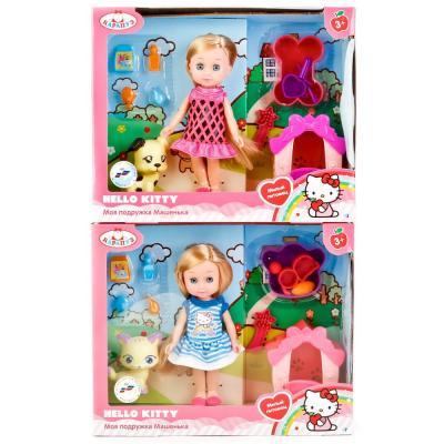 Кукла КАРАПУЗ HELLO KITTY. МАШЕНЬКА 15 см MARY63001-HK мешок для обуви оригами hello kitty 41 34 10см 504 0078 hk ch