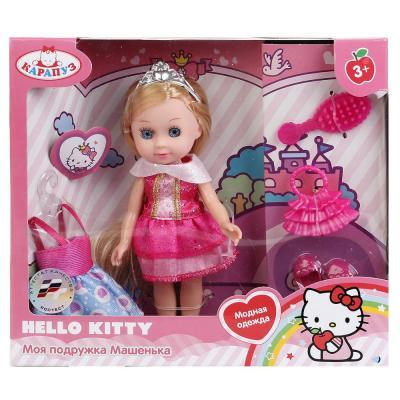 Купить Кукла КАРАПУЗ HELLO KITTY. МАШЕНЬКА 15 см MARY63010А-HK, пластик, текстиль, Куклы Карапуз
