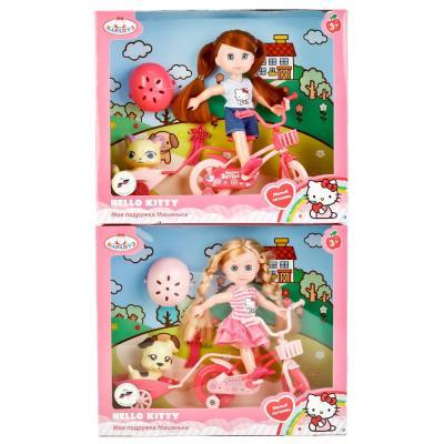 Кукла КАРАПУЗ HELLO KITTY. МАШЕНЬКА 15 см MARY63003-HK карапуз мини кукла машенька брюнетка