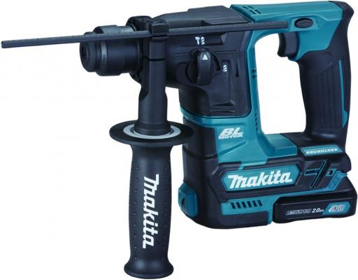 Перфоратор акк MAKITA HR166DWAJ SDS+ б\\щет, 10.8В, 2х2АчLi-ion(слайдер), 2реж, 1.1Дж, 0-4800у\\м перфоратор акк makita hr166dwae1 sds б щет 10 8в 2х2ачli ion 2реж 1 1дж 0 4800у м 64 насадк