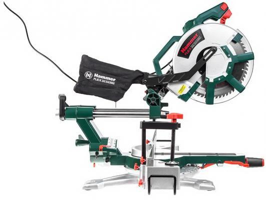 Пила торцовочная (стусло) Hammer Flex STL1800/305PL 1800Вт 5000об/мин круг 305мм гл. 110мм пила hammer crp1800d flex