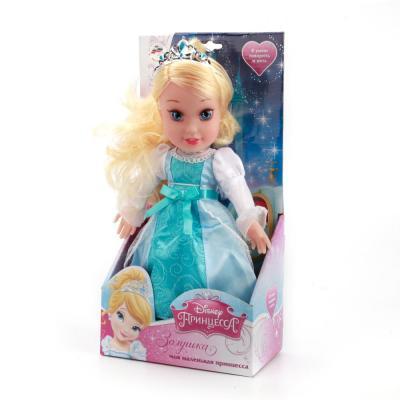 Кукла МУЛЬТИ-ПУЛЬТИ DISNEY ПРИНЦЕССА. ЗОЛУШКА 30 см со звуком CIND004