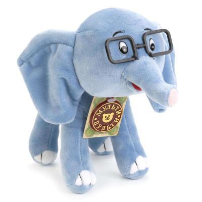 Мягкая игрушка слоненок МУЛЬТИ-ПУЛЬТИ Слонёнок искусственный мех 20 см