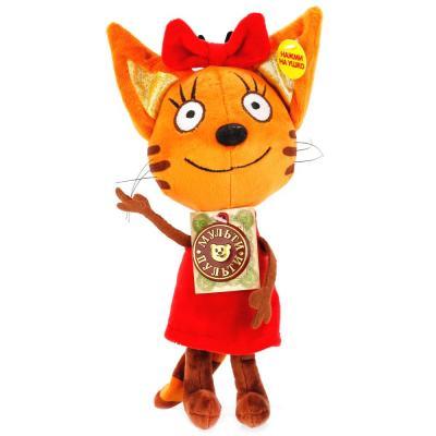 Мягкая игрушка Мульти-Пульти 3 кота. Карамелька 16см, озвуч. русс. чип в пак. в кор.24шт игрушка мульти пульти три кота компот v92305 20
