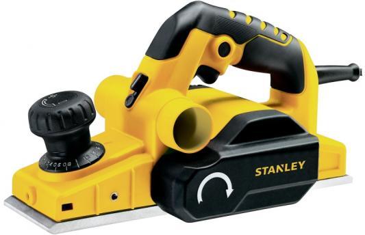 Рубанок STANLEY STPP7502-B9 750Вт 16500об/мин рез2мм нож82мм 2.8кг рубанок stanley 1 12 020