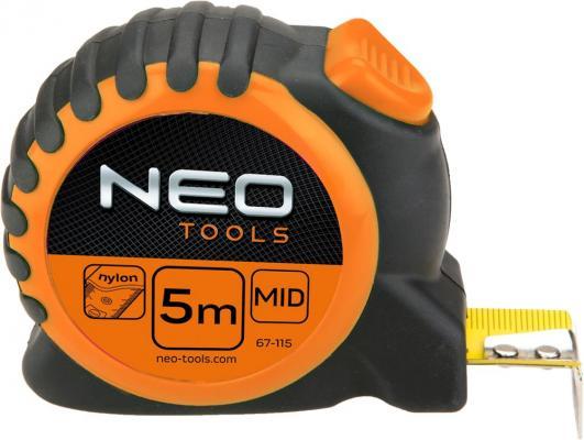 Рулетка NEO 67-115 5мx25мм рулетка fit профи 5мx25мм 17426