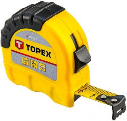 Рулетка TOPEX 27C310 10мx25мм нивелир topex 29c909