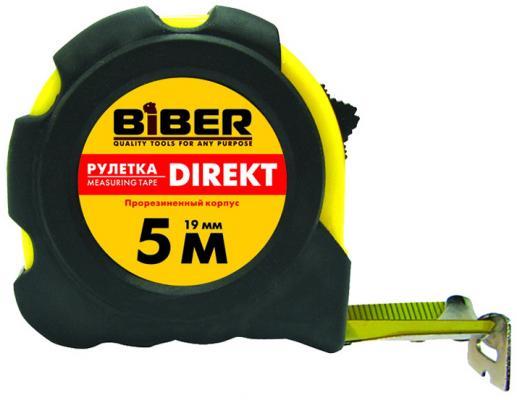 Рулетка Biber 40104 5мx25мм плоскогубцы biber 80863