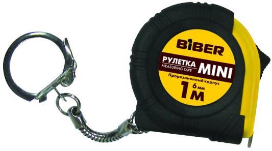 Рулетка Biber 40131 1мx6мм валик biber 35898