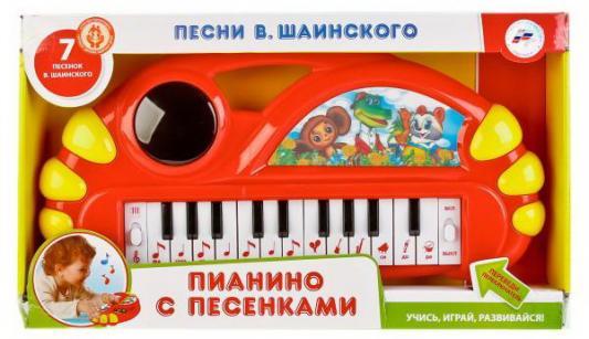 Купить Электропианино УМКА Песни В.Шаинского, разноцветный, Детские музыкальные инструменты