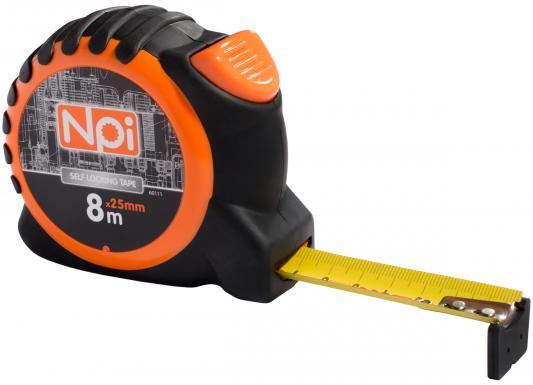 Рулетка NPI 60111 8мx25мм нож npi 10552