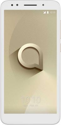 Смартфон Alcatel 1X 5059D 16 Гб золотистый 5059D-2CALRU1 смартфон alcatel idol 5 4g ds metal blackb 6058d