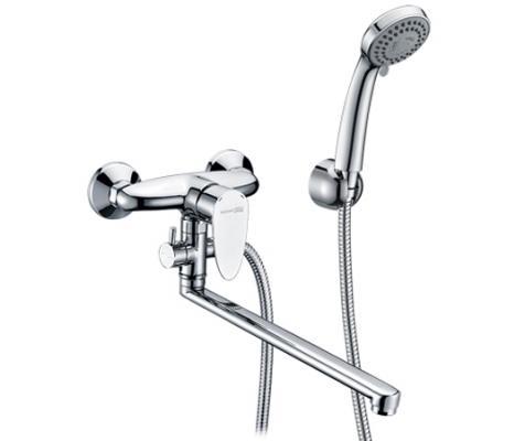Смеситель WasserKRAFT 3502L для ванны с длинным изливом leine смеситель wasserkraft weser 7801 9060821