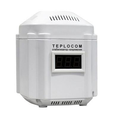 Стабилизатор напряжения Бастион Teplocom ST-222/500-И 1 розетка стабилизатор напряжения teplocom st 888 и для котла