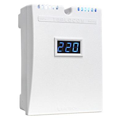 все цены на Стабилизатор TEPLOCOM ST 555-И сетевого напряжения 220 в 555 ва с индикацией входного напряжения онлайн