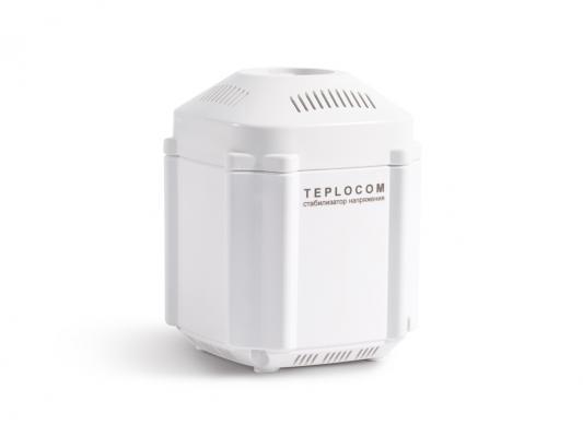 Стабилизатор TEPLOCOM ST-222/500 сетевого напряжения 220 в 222 ва стабилизатор напряжения teplocom st 888 и для котла