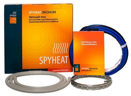 Комплекты тёплых полов SPYHEAT Эконом SH-450  мощность нагревательной секции 450Вт