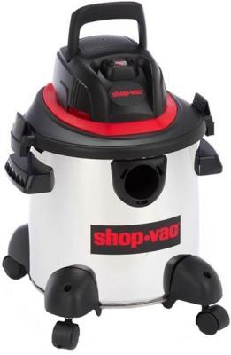 Пылесос Shop VAC 16-I сухая влажная уборка белый чёрный