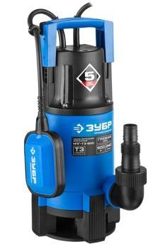 Насос ЗУБР НПГ-Т3-900 профессионал т3 погружной дренажный для грязной воды d частиц до 35мм 900Вт насос погружной для грязной воды зубр знпг 550