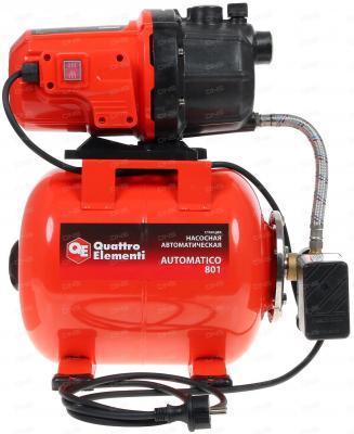 цена на Насосная станция QUATTRO ELEMENTI Automatico 801 800Вт 3200л/ч для чистой 40м 12.95кг