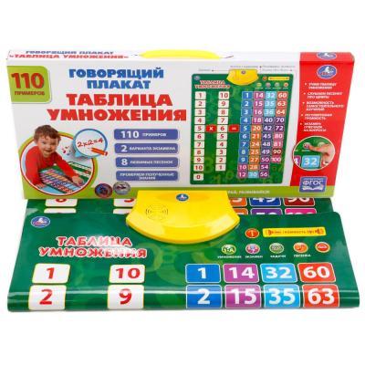 Купить Развивающая игра Умка Говорящий плакат HX0251-R13, Обучающие плакаты для детей
