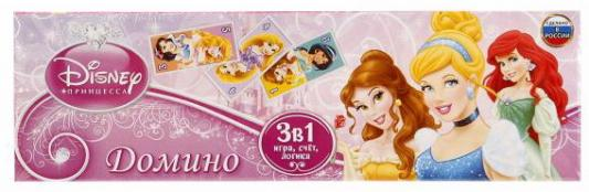 Настольная игра УМКА домино Принцессы настольная игра эврики аквамозаика принцессы 2933734