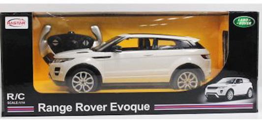На р/управлении RASTAR Range Rover Evoque 1:24 цвет в ассортименте
