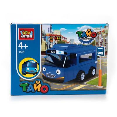 Конструктор Город мастеров Автобус Тайо BB-1521-R конструктор город мастеров камаз бетономешалка bb 8875 r1