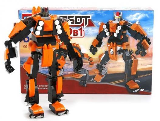 Конструктор Город мастеров 2-в-1 - Робот + динозавр конструкторы для малышей город мастеров 2 в 1 робот вертолет