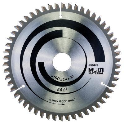 Диск пильный BOSCH Multi Material 190x54x30 (2.608.640.509) 190x54x30