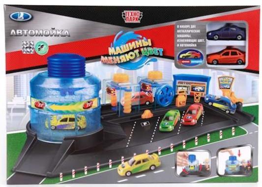Купить Игровой набор ТЕХНОПАРК Автомойка, для мальчика, Игровые наборы для мальчиков