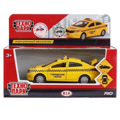 Автомобиль Технопарк KIA RIO ТАКСИ желтый RIO-TAXI фаркоп kia rio x line 2017