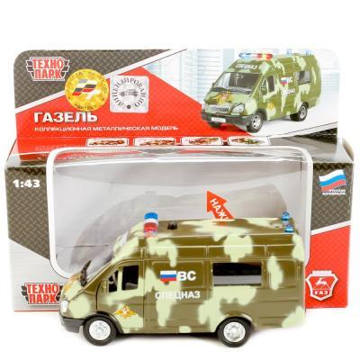 Микроавтобус Технопарк ГАЗЕЛЬ СПЕЦНАЗ камуфляж CT-1276-21 технопарк технопарк спецназ
