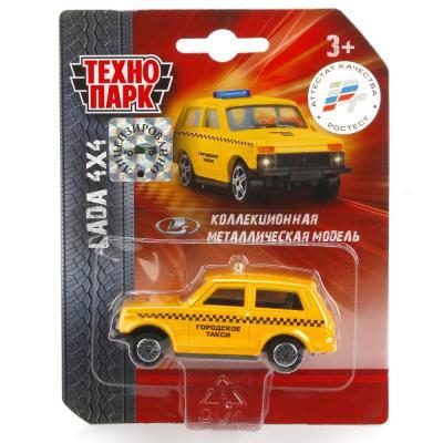 Автомобиль Технопарк LADA 4X4 цвет в ассортименте SB-16-72-B-BLC игрушка технопарк lada в спорт окраске 3шт sb 16 79wb