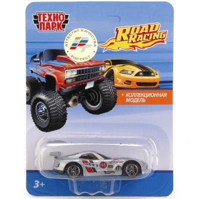 Автомобиль Технопарк Road Racing цвет в ассортименте 1585174-R автомобиль технопарк мутант road racing синий 1619260 r
