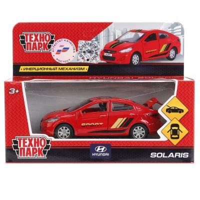Автомобиль Технопарк HYUNDAI SOLARIS красный SOLARIS-SPORT solaris s8204 brown